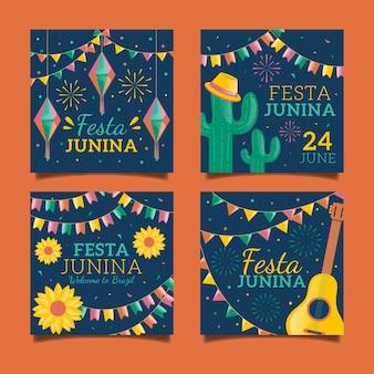 Дизайн коллекции июньских фестивалей