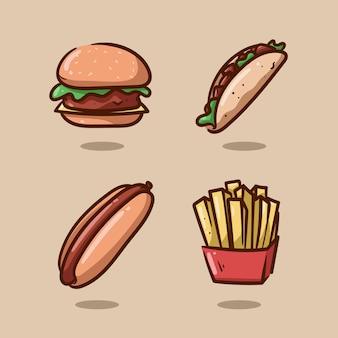 Junkfood illustration
