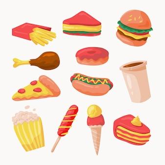 Коллекция дизайна junkfood