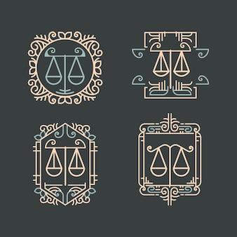 Юридические фирменные ярлыки и значки