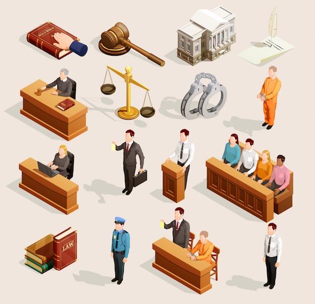 배심원 법원 요소 컬렉션