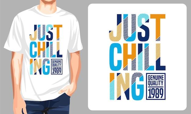 Просто пугающий дизайн футболки