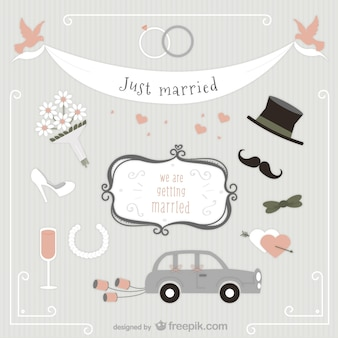 Just married pack
