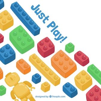Just play blocks background