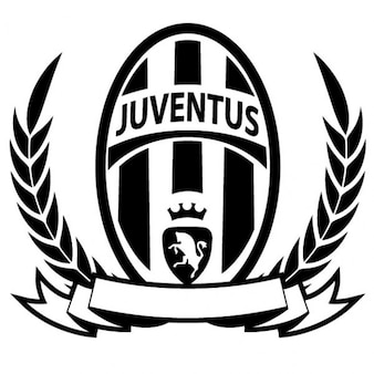 Juventus championship tittle vector