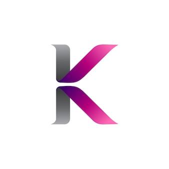 Буквенное письмо k и letter v