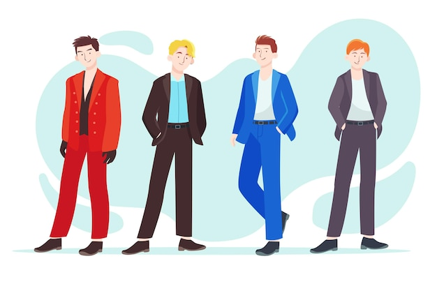 K-pop мужская группа