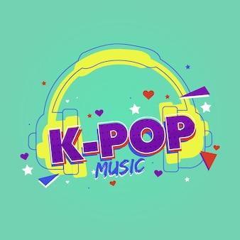 K-pop music concept