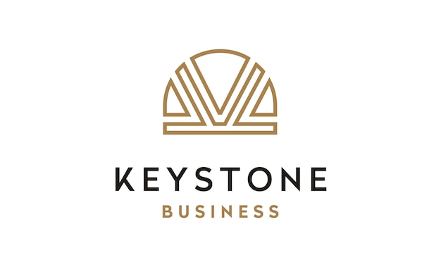 初期kとキーストーン画像ロゴデザイン