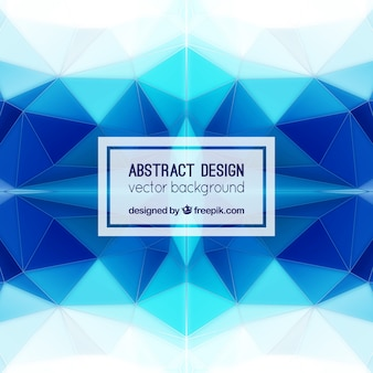 Kaleidoscopic blue background