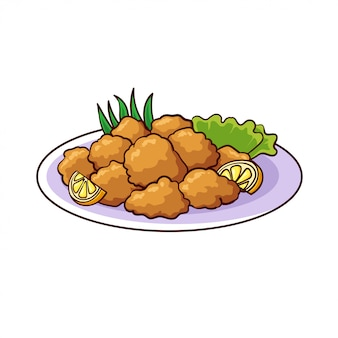Karaage is a typical food from japan