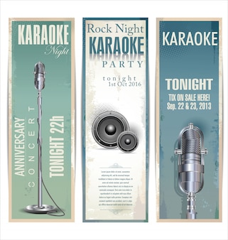 Karaoke background