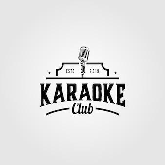 Karaoke music club logo
