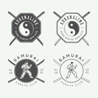 Karate or martial arts logo