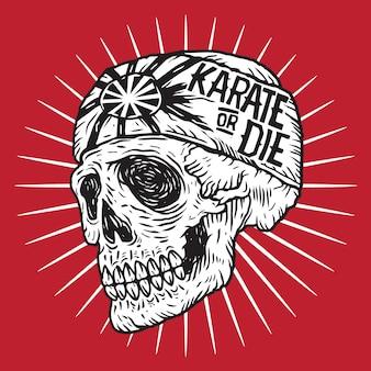 Karate skull 2