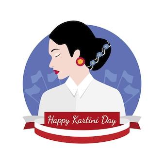Концепция дня kartini