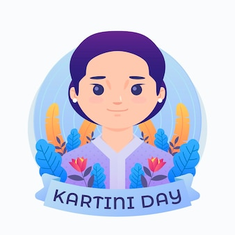 Kartini day illustration