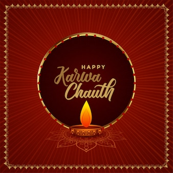 Karwa chauth indian festival background