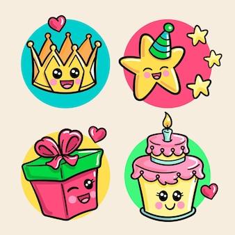 Kawaii birthday collection