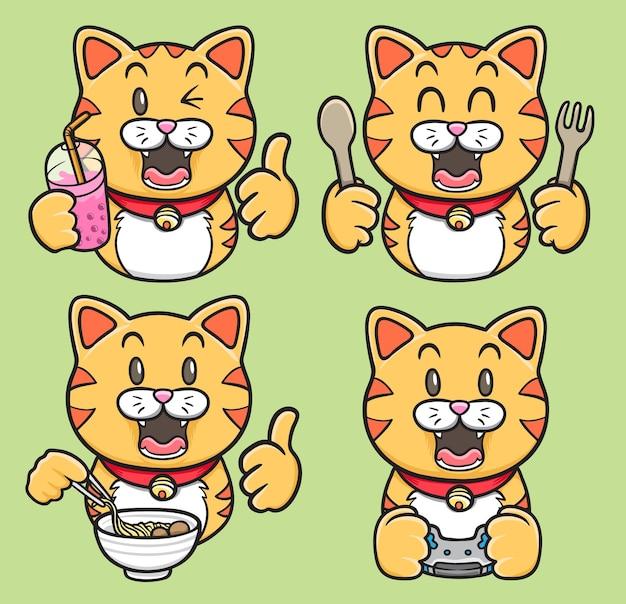 カワイイ猫セット
