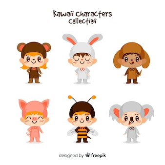 Kawaii character collection
