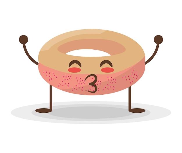 Kawaii donut food sweet