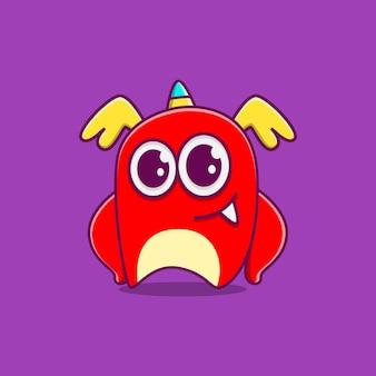 Каваи каракули монстр мультипликационный персонаж