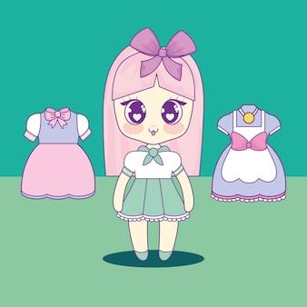 かわいい女の子セット服