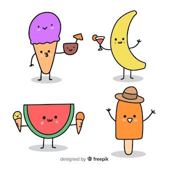 귀엽다 아이스크림 캐릭터