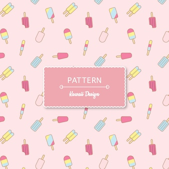 Kawaii pink pattern