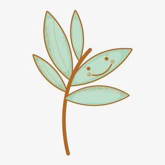 眼と口を持つカワイイ植物
