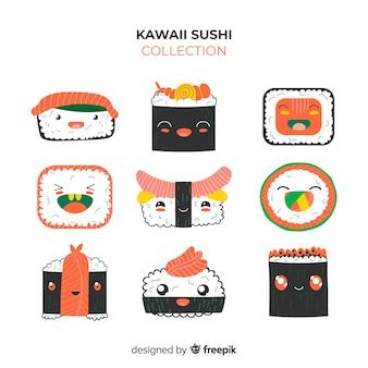 Kawaii sushi pieces pack