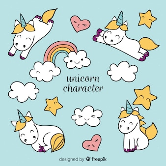 Kawaii unicorn collection
