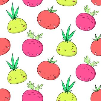 Kawaii vegetable