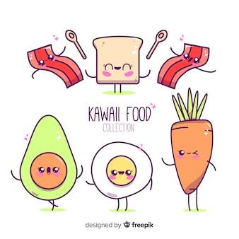 Коллекция продуктов kawaii