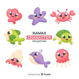 Kawaii коллекция символов