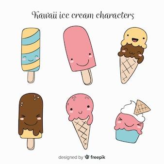 Kawaii коллекция мороженого