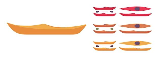 Набор лодок для байдарки