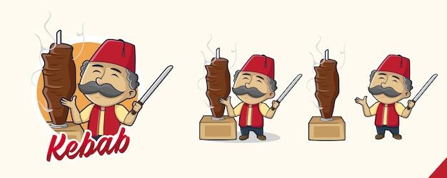 Логотип kebab master