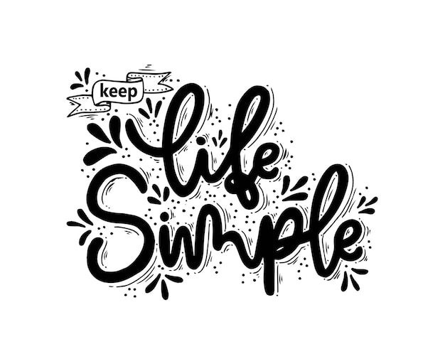 삶을 단순하게 손으로 쓰는 비문 동기와 영감을 주는 긍정적인 인용구