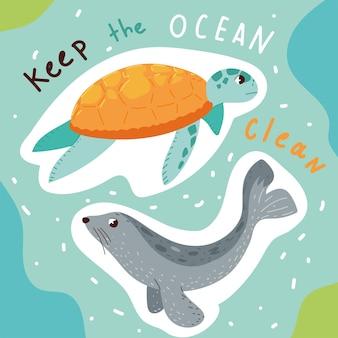 海をきれいに保つ