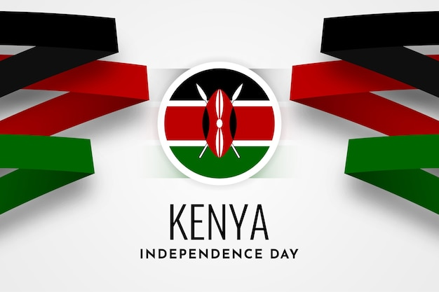 Kenya independence day template design
