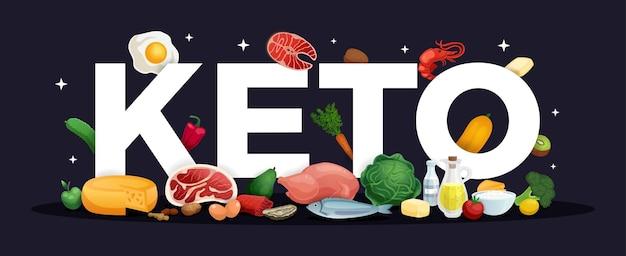 Кето диета фон