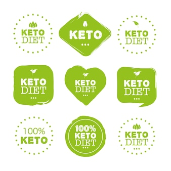 Keto diet great design for any purposes food logo paleo diet healthy eating concept