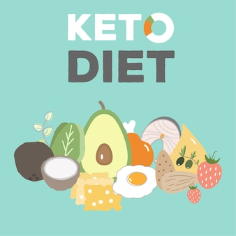 Ketogenic diet, keto food, high fats, healthy heart food