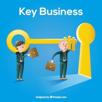 Основная концепция бизнеса с плоской конструкцией