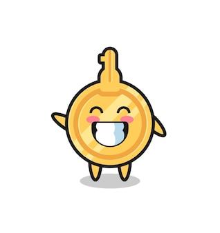 웨이브 손 제스처, 귀여운 디자인을 하는 주요 만화 캐릭터