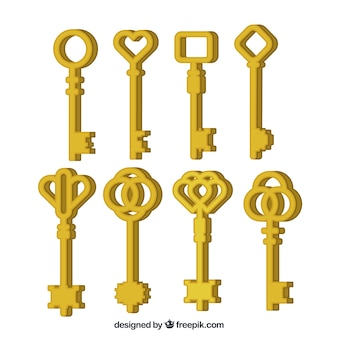 Key collection of eight