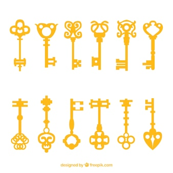 Key collection of twelve