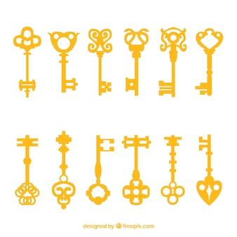 Key collection of twelve